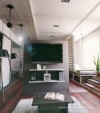 mirror-wall-in-tiny-apartment-600x680